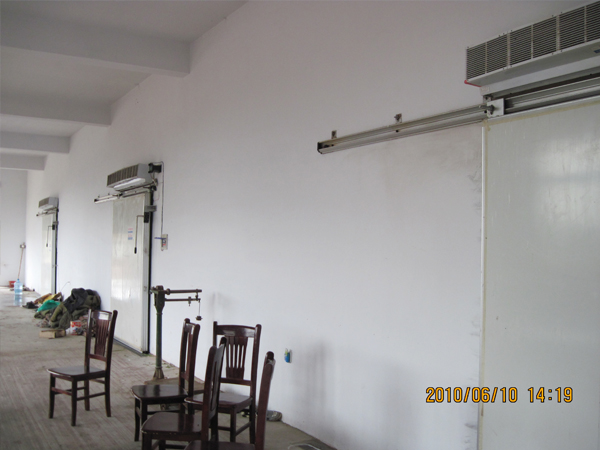 芜湖福星食品2000平方仓储冷库案列