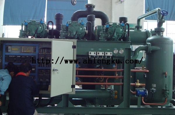 滁州6000吨大型食品冷库安装顺利完工