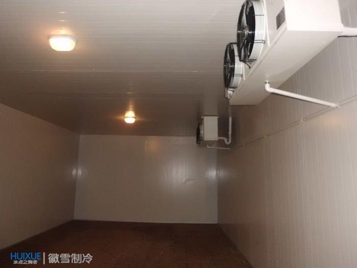 安庆太湖县许总水果保鲜冷库安装建造案例